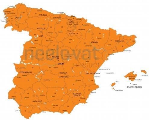 Postcodes Spanje