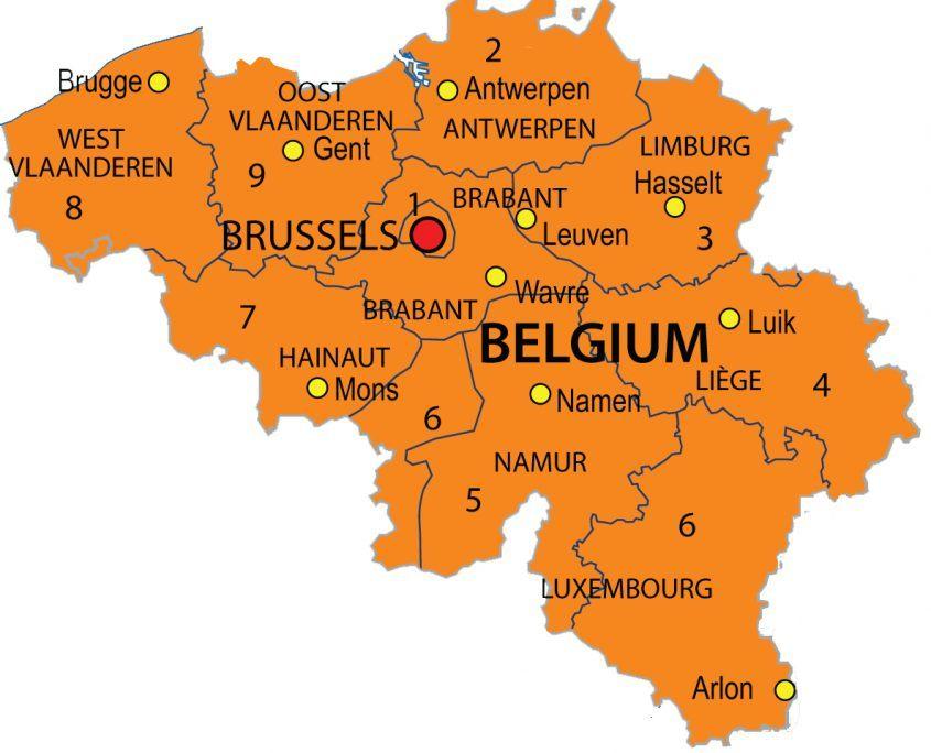 Postcode België