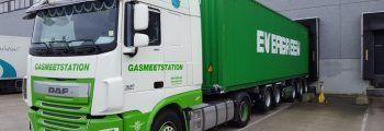 Oprichting Gasmeetstation
